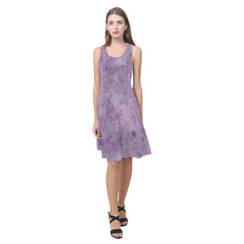 trendy abstract mix A by FeelGood Atalanta Casual Sundress(Model D04)