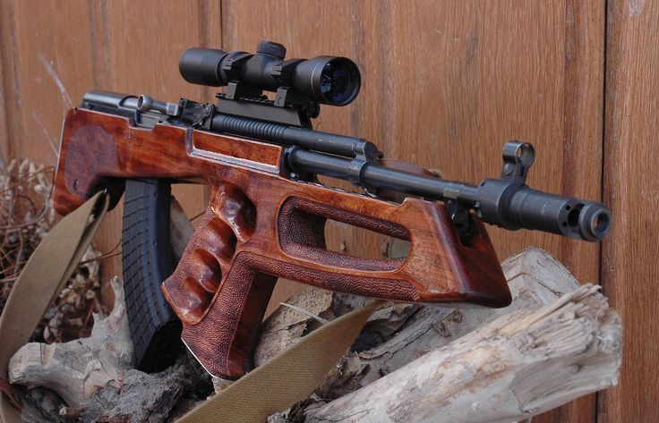 SKS Simonov 7,62 × 39mm rifle with beautiful custom wood stock by Utah Custom Gun Stocks