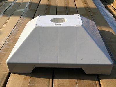 楽天市場】モダンスタイル【屋外頑丈仕様】国産SUS304オールステンレス ... コンクリート充填済み 大型ベースを用意