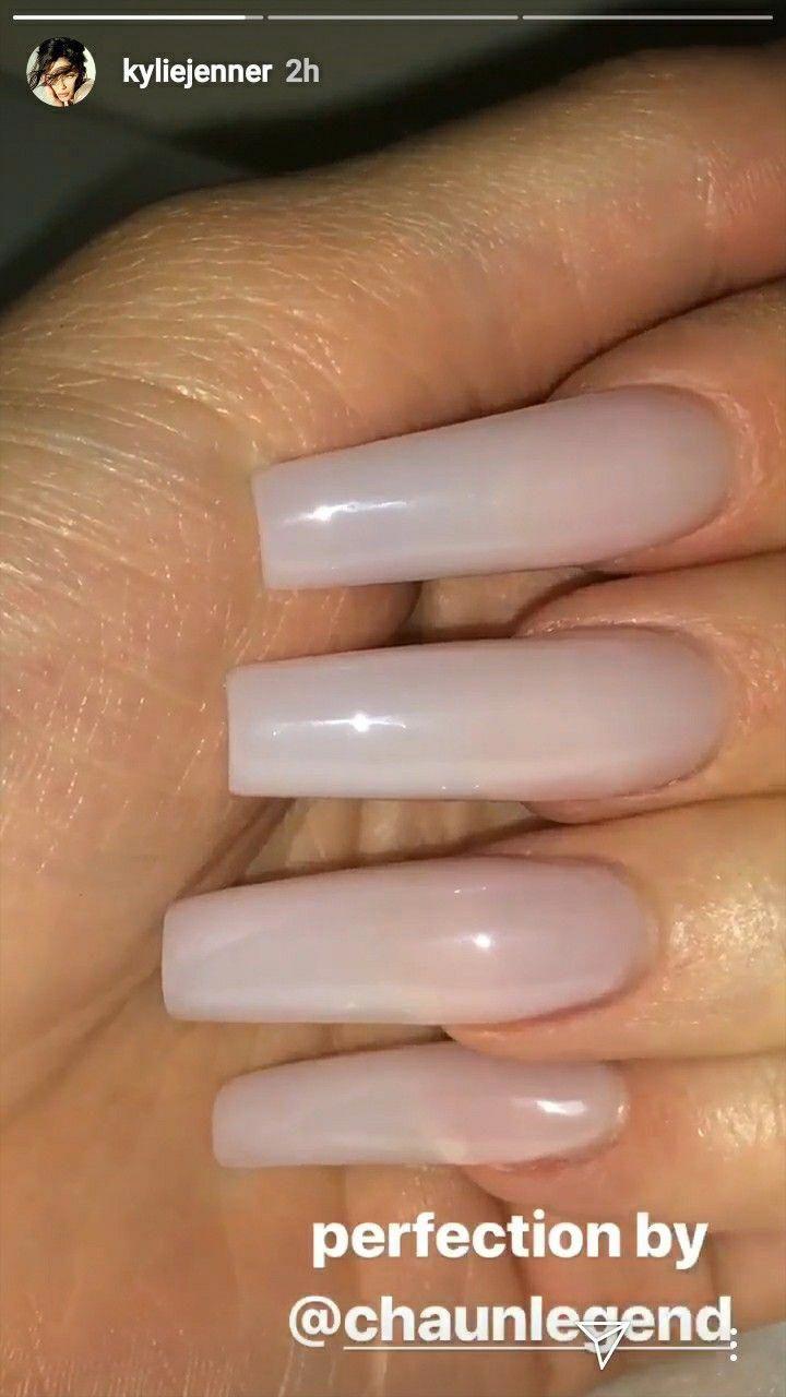 Kylie Jenner Nails Acrylic Nails Kyliejennernail Kylie Jenner Nails Organic Nails Short Acrylic Nails Designs