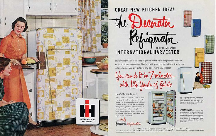 International Harvester - The Decorator Refrigerator