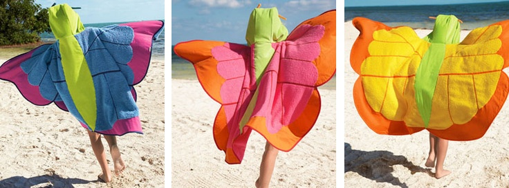 Grosgrain: Butterfly Towels for the Beach