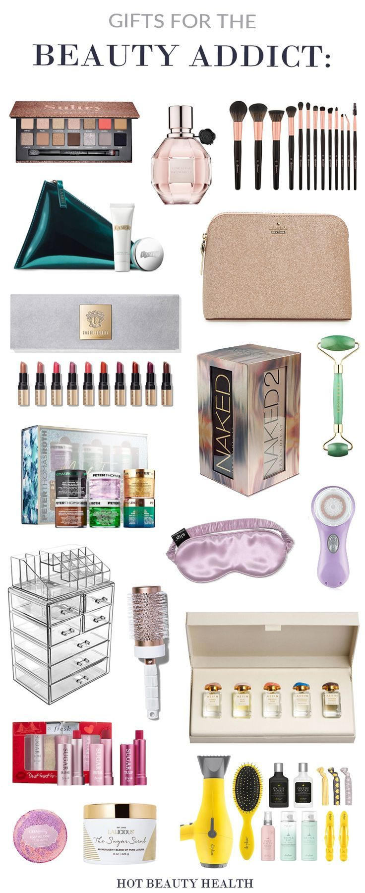 The Best Holiday Gifts For Her Beauty And Makeup Lover This Christmas Great Gift Stocking Stuffer Ideas Mom Wife Sister Aunts Daughter