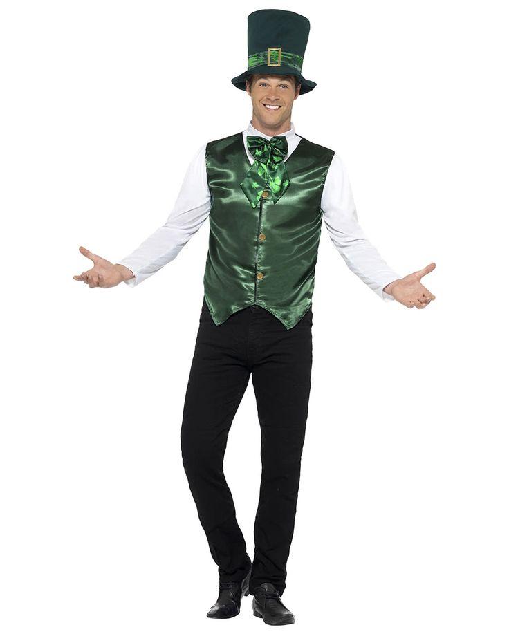 Kostüm St. Patrick's Day mit Hut