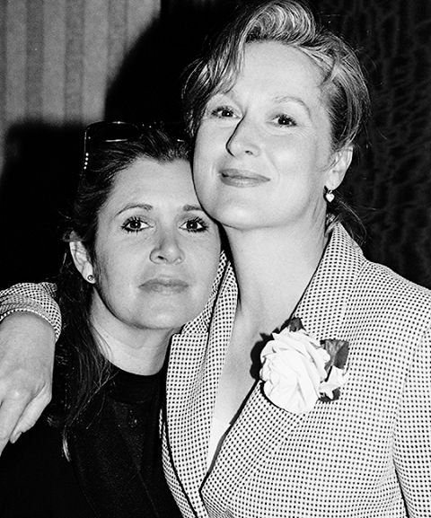 """As my friend, the dear departed Princess Leia, said to me once: Take your broken heart. Make it into art."" - Meryl Streep"