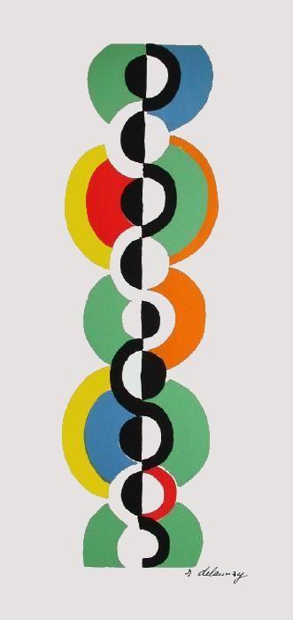 Delaunay, Muster auf Pinterest von Rachel Oo gesammelt