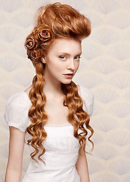 Traumhafte Hochzeitsfrisuren – Designer Hair/Runway Hair