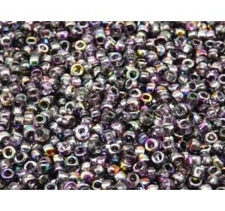 MATUBO 7/0 Czech Glass Seed Beads Magic Violet-Grey