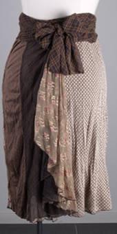 Sylvie Wrap Skirt - Chameleon - Annah Stretton
