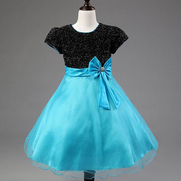 Formal dress cute girl spring summer flower girl dress children ...