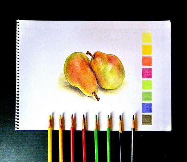 19.- Técnica de los lápices de colores.- 2ª Parte :: Valero