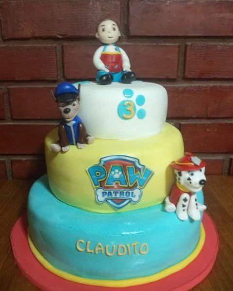 #PawPatrol #fondant #cake  #Chase #Ryder #Marshall #instacake #puq #Chile #VolovanProductos #Cakes #Cakestagram #SweetCake