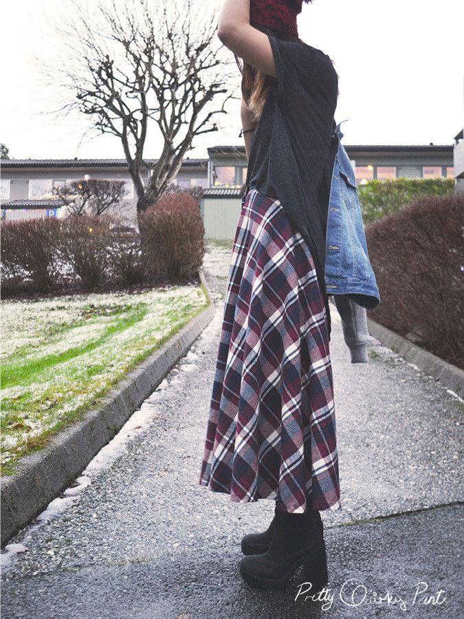 diy how to make a maxi dress circle skirt