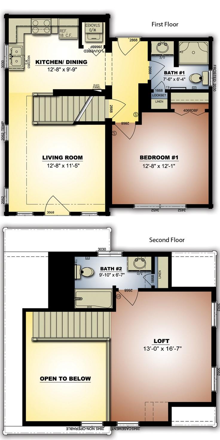 Bachelor 484 sq ft log home kit log cabin kit mountain ridge -  Cabins Brlc Highlands Vi Log Home Floor Plan Click Image For Design