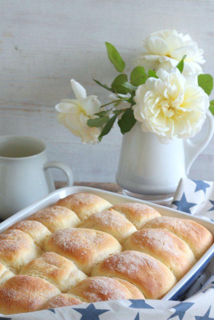 Buchteln mit Zucker und Zimt I www.schoenesleben.net I Rezept I Herbst