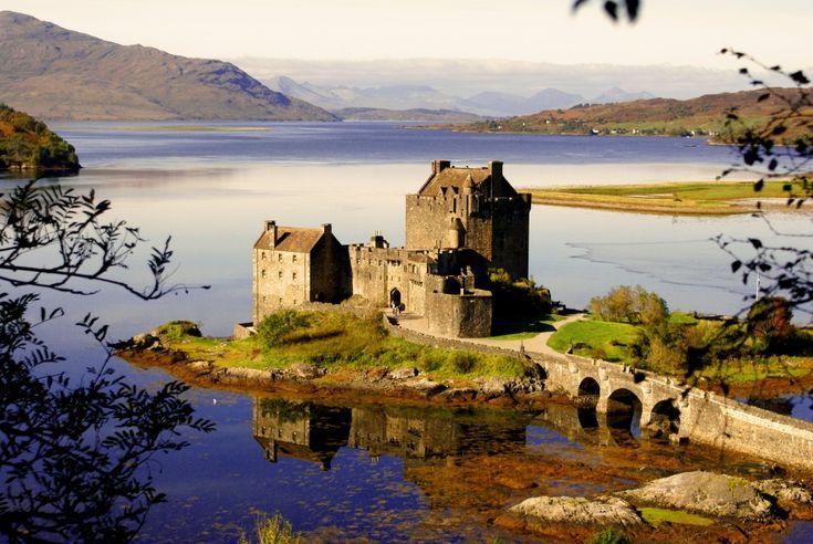 Castillo de Eilean Donan, Escocia   20Fabulosos castillos enlos que tequedarías avivir para siempre