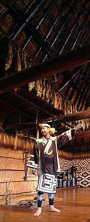 Ainu Museum (indigenous peoples) - Hokkaido (south-east of Sapporo)