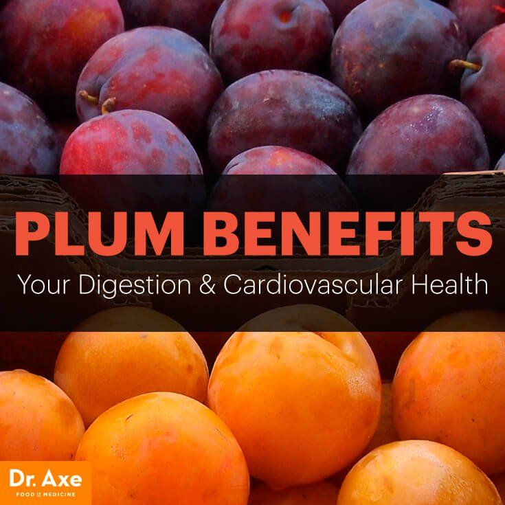Plum benefits - Dr. Axe