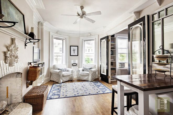 See the Cute, Cheap 'Upstairs Cottage' in a West Side House - The Six-Digit Club - Curbed NY.  One Bedroom UWS Apartment (West 86th St), NYC - would love a cozy apartment like this as a second home!