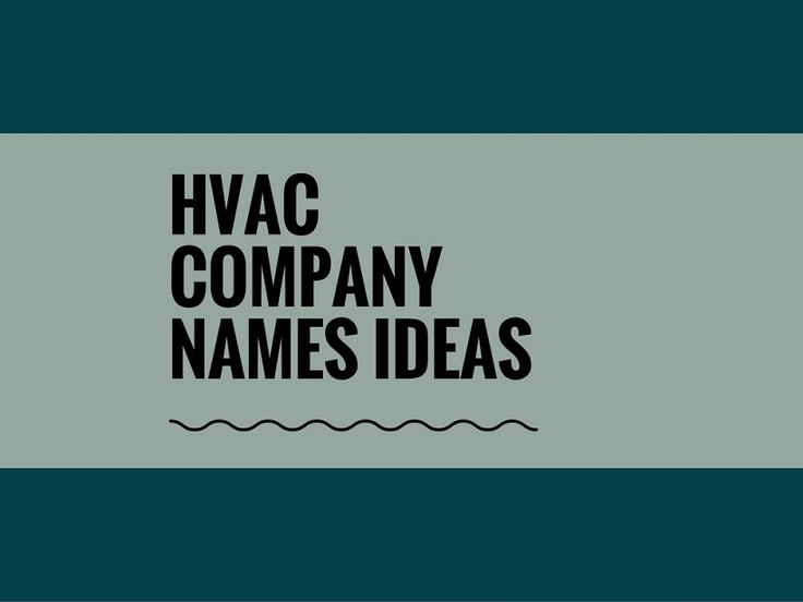 While your business may be extremely professional and important, choosing a creative company name can attract more attention.A Creative name is the most important thing of marketing. Check here creative, best HVAC Company names ideas for your inspiration.