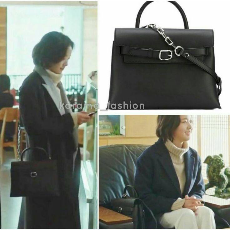 "671 lượt thích, 4 bình luận - @kdrama_fashion trên Instagram: ""Kim Go Eun carried ALEXANDER WANG 'Attica' Crossbody Bag £800 in Goblin Drama Episode 14. Photo…"""