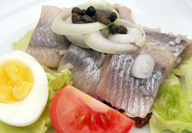 Danish Food Culture - Marinated Herring - Rye Bread
