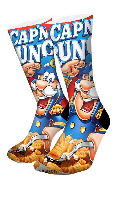 Captain Crunch CES Custom Socks - CustomizeEliteSocks.com - 3