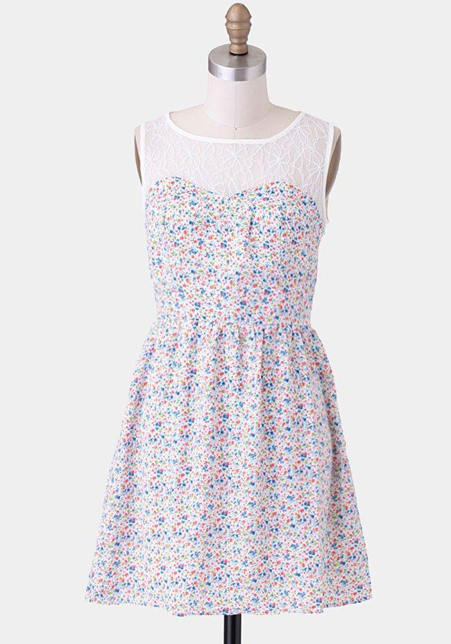 Garden Dwelling Floral Dress