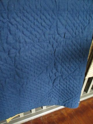 blue lindsey woolsey quilt