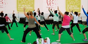 Les Mills class at the 30 Days of Health & Wellbeing Spa Weekend