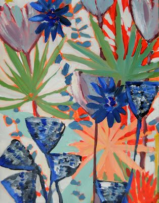 hello lovely inc.: an inspired life {lulu dk}: Art Stuff, Color, Art Inspiration, Prints Textiles, Art Ideas, Summertime Inspiration, Textile Design, Art Galleries, Art Artists