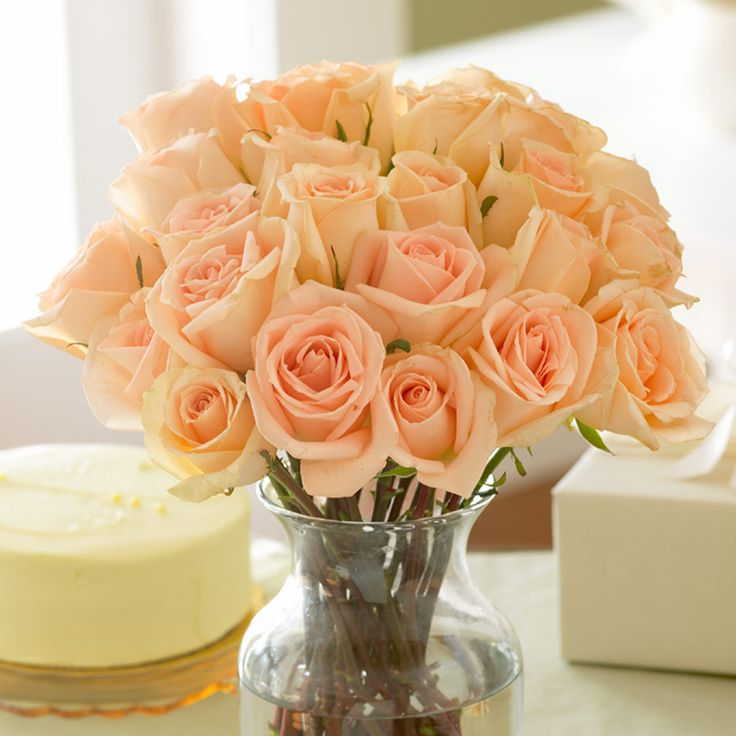 Букеты розы персикового цвета значение
