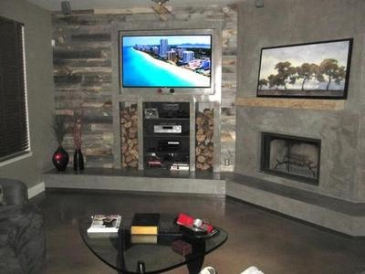 Reclaimed Weathered wood  Stikwood  more basement room ideas