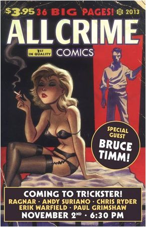 Bruce Timm, Ragnar, And More To Celebrate All Crime Comics # 2