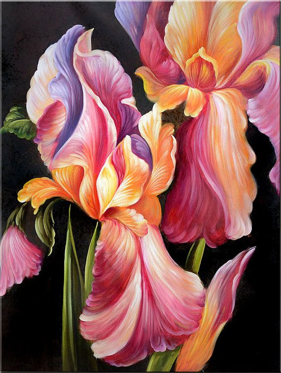 Watercolor Flowers And Paint Brushes: 25 Best Flowers And Floral With Paint Brush Images On