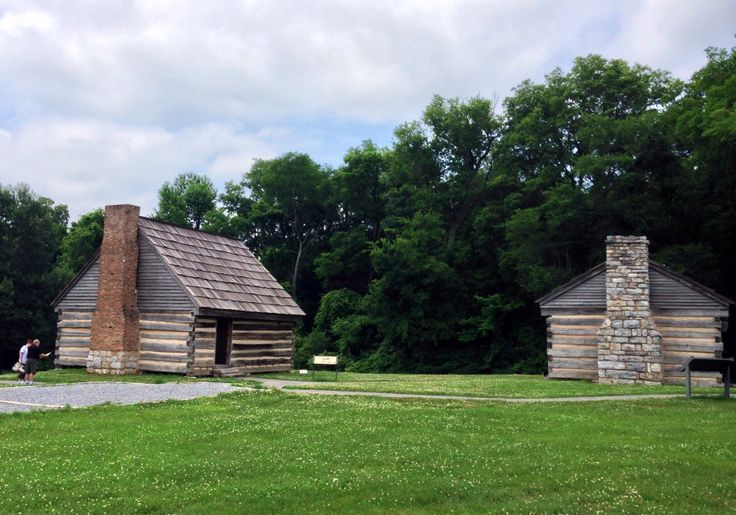 Andrew Jackson Log Houses And Nashville Tennessee On