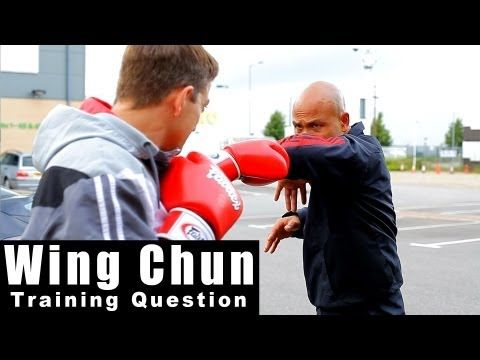 wing chun how to destroy the boxer Q36
