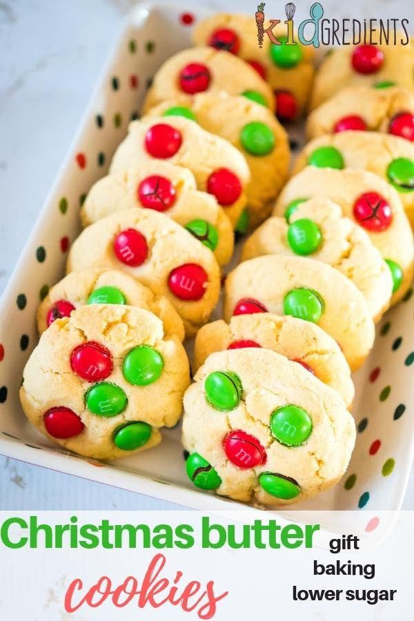 Christmas Butter Cookies Recipe Nommy Nom Treats Pinterest