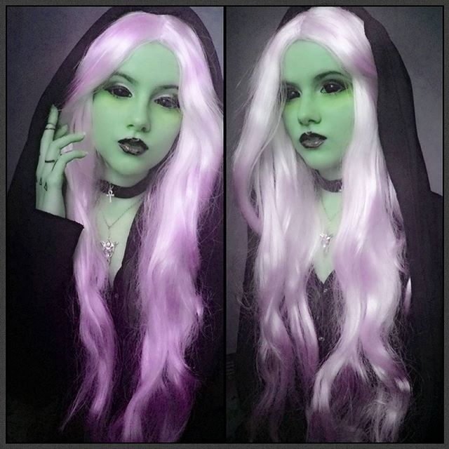 #mulpix   #wig  #sclera  #lenses  #makeup  #girl  #darkelf  #dark  #darknight  #darknes  #blacklips  #black  #hair  #whitehair  #white  #skin  #ufo  #tumblr   #transformation  #pink  #japan  #tattoo  #art  #tokyofashion  #pinkhair  #batnorton  #evenstar  #lotr  #shelob  #cosplay