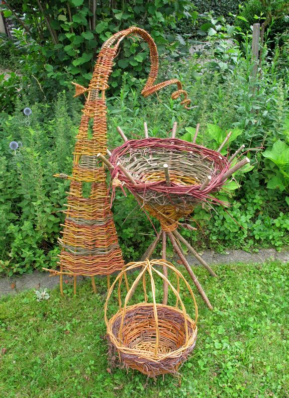Basket Weaving Ornaments : Best images about crafting willow on