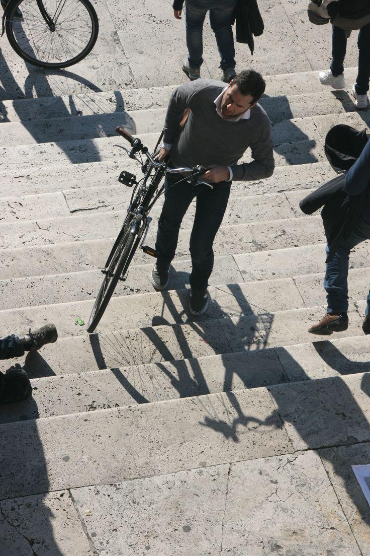 #SpanishSteps #Bikes