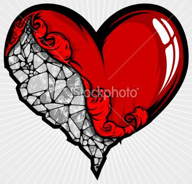 idea for heart on my sleeve tattoo, Something that seems cool would be a heart that looks like it's chiseled from stone but still has blood seeping from the crack of the stone, Even a heart of stone bleeds some times