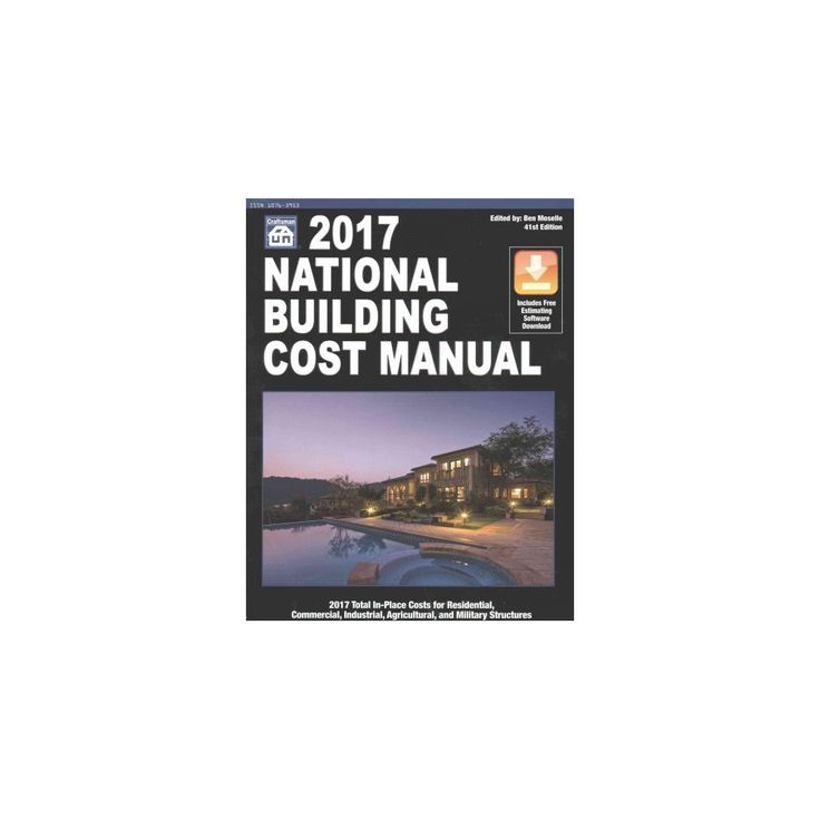National Building Cost Manual 2017 (Paperback)