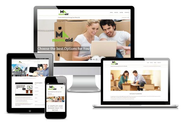 MoveAid website design and implementation.