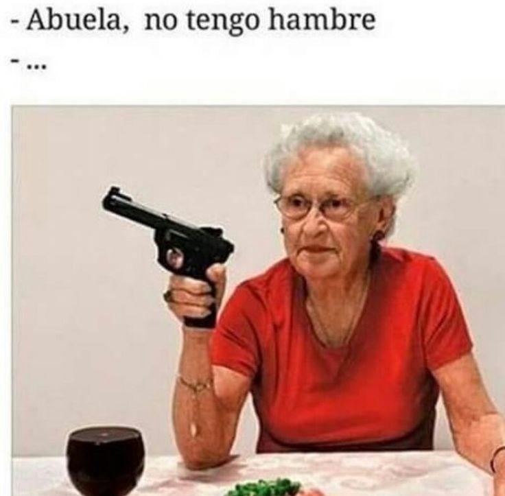 Nunca le digas eso a tu abuela! ☠