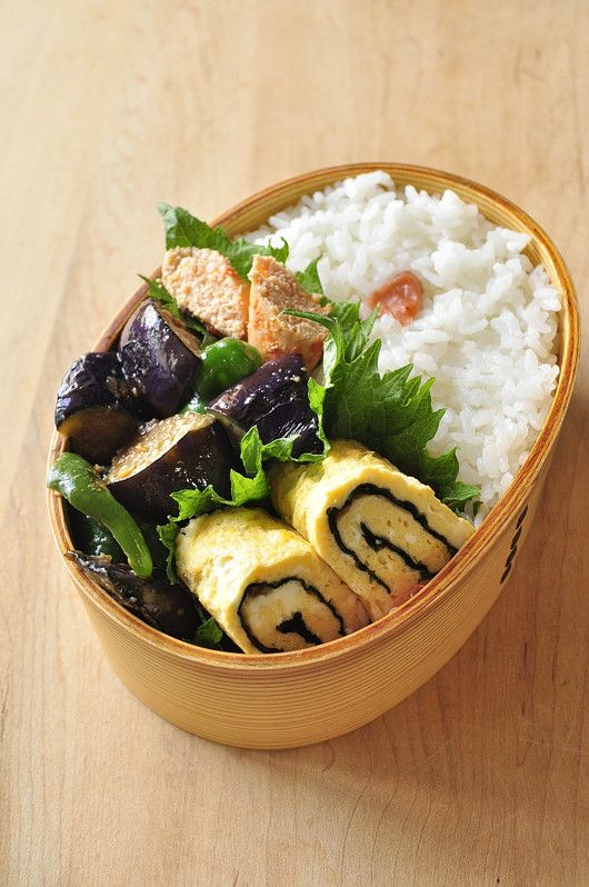 Healthy lunch there love to son & husband: lunch fried vegetables and miso summer camp