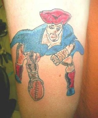 Kick off the NFL season with these 15 terrible NFL tattoos! # 1 is awful!
