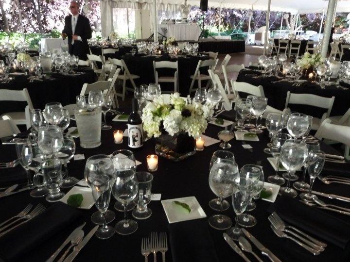 Our Black And White Wedding Masquerade