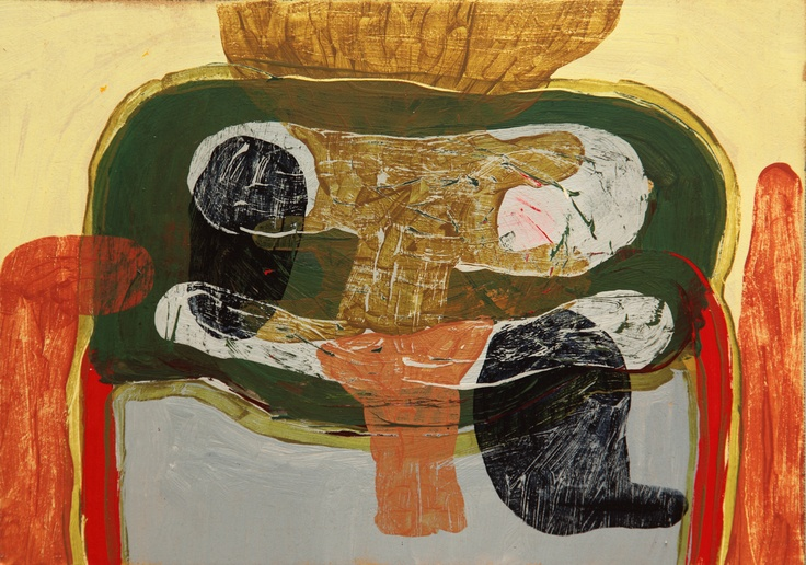 Mind Map #2 (2011) Painting by Norwegian artist Øyvind Suul.  #art #painting #suul #2D #Norway