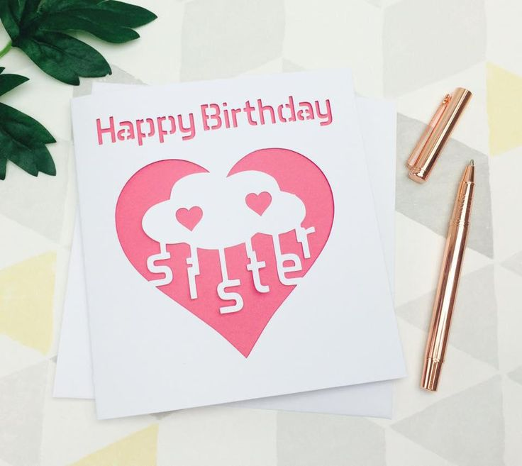 25 Best Ideas About Facebook Birthday Cards On Pinterest: 25+ Best Ideas About Happy Birthday Sister Cards On